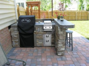stone outdoor kitchen raleigh nc