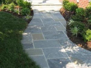 raleigh stone paver walkway